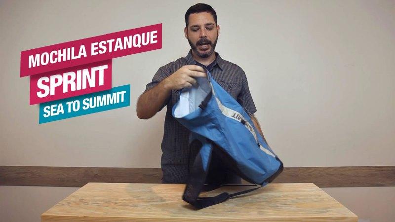 Conheça a Mochila Estanque Sprint Sea to Summit