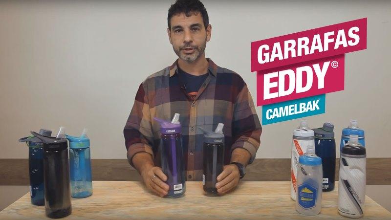 Garrafa Eddy, da CamelBak, ideal para seu dia a dia