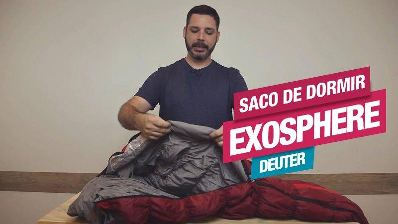 Conheça o Saco de Dormir Exosphere, da Deuter