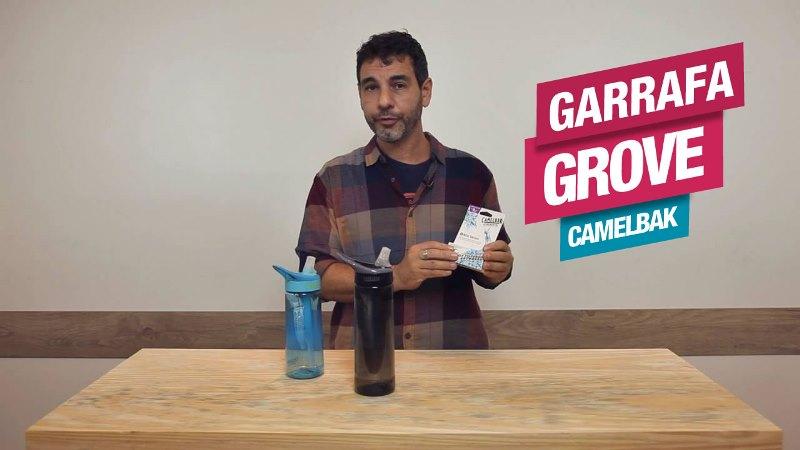Garrafa CamelBak Groove: sua água sempre filtrada