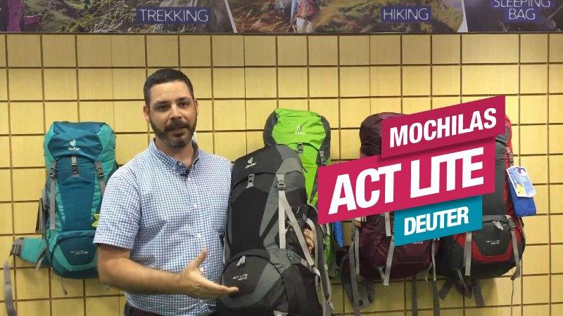 Conheça a Linha de Mochilas ACT Lite, da Deuter