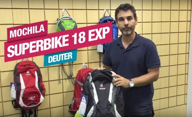 Veja os detalhes da Mochila Superbike 18 EXP, da Deuter