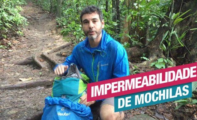 Entenda sobre Impermeabilidade de Mochilas
