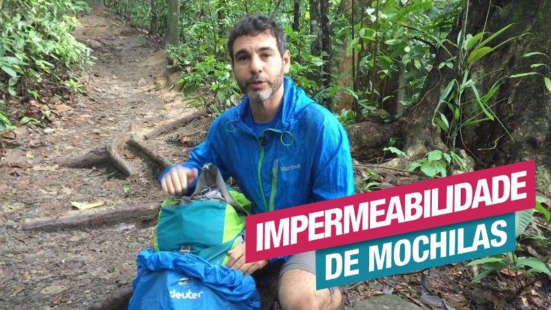 Impermeabilidade de Mochilas