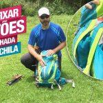 Como Fixar Bastões de Caminhada na Mochila