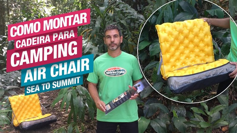 Como montar a Air Chair, da Sea to Summit