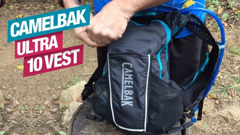 Mauro Chasilew apresenta a CamelBak Ultra 10 Vest