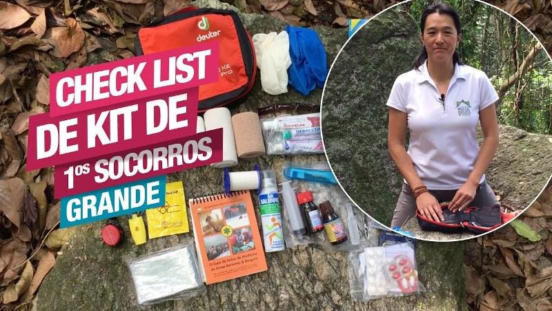 Check List para Kit de Primeiros Socorros – Grande