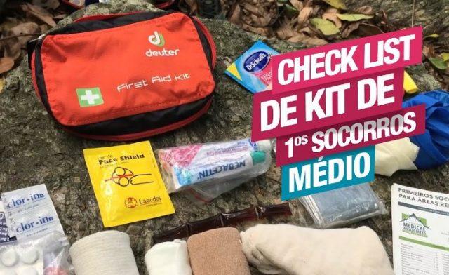 Check List para Kit de Primeiros Socorros – Médio
