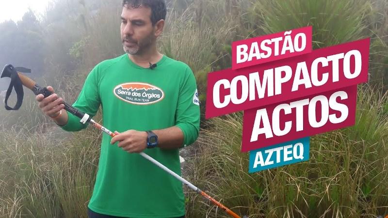 Conheça o Bastão de Caminhada Compacto Actos da Azteq