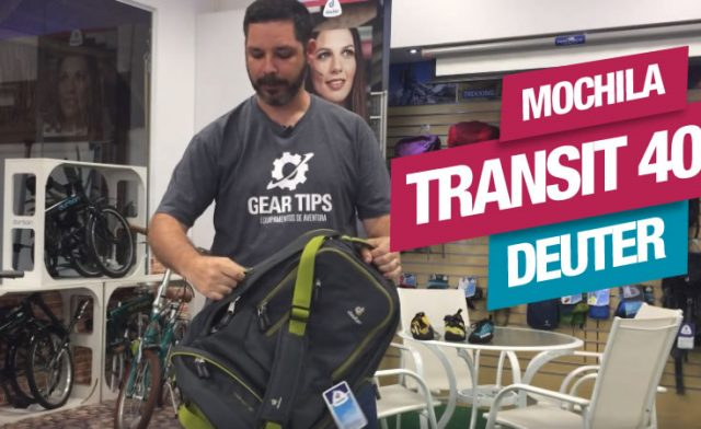 Novidade! Mochila de Viagem Transit 40 da Deuter