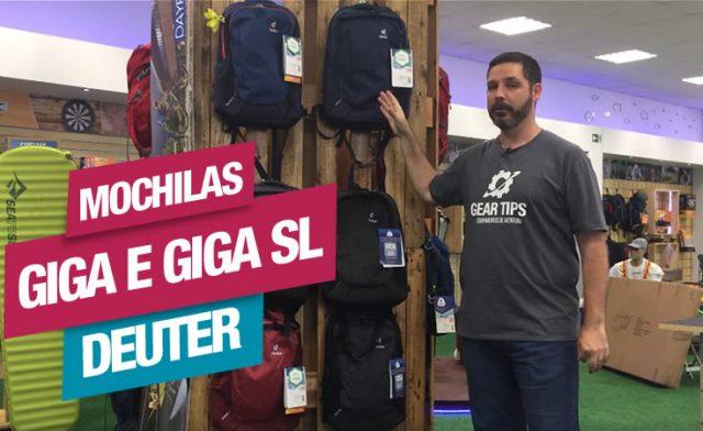 Novidade! Mochilas de Notebook da Linha Giga e Giga SL Deuter