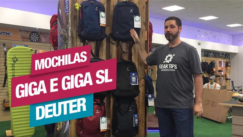 Mochilas Giga e Giga SL