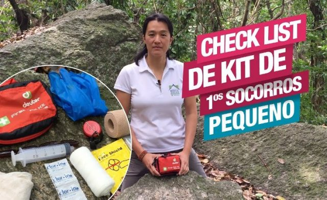 Check List para Kit de Primeiros Socorros – Pequeno