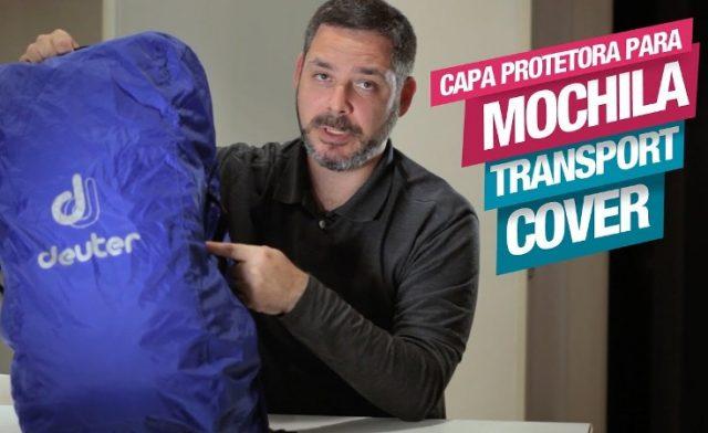 Transport Cover, a Capa de Proteção para Mochilas da Deuter