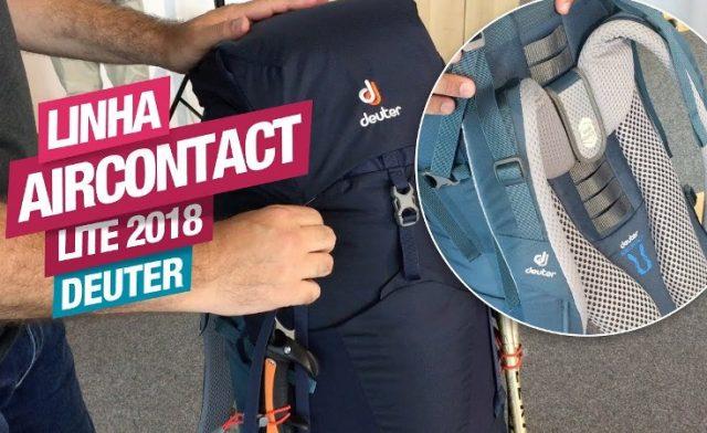 Lançamento! Linha Aircontact Lite Deuter 2018