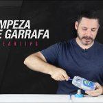Como limpar Garrafas para Bike