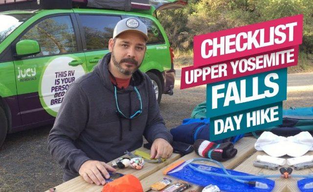 CheckList de Equipamentos para um Day Hike – Upper Yosemite Fall