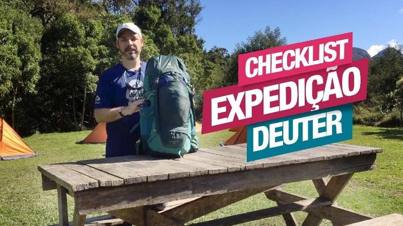 Checklist de Equipamentos para a Expedição Deuter