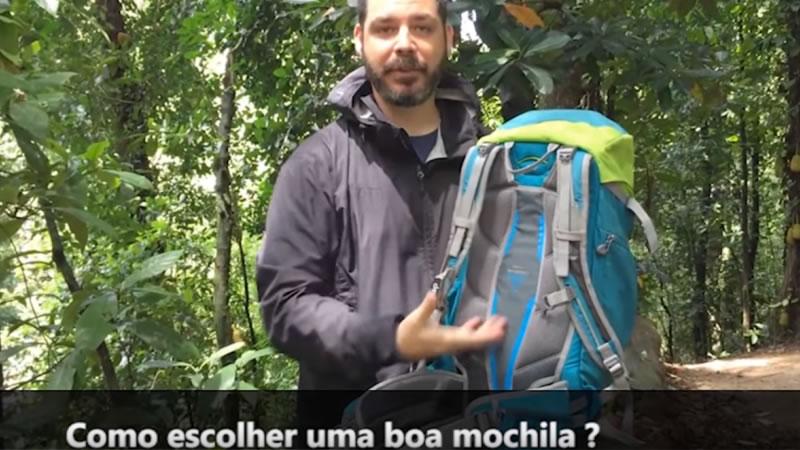 Video-Entrevista – Qual é a melhor mochila? – Por Desbravatube