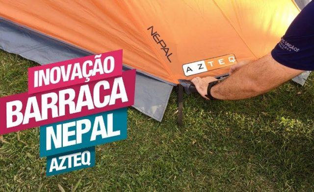 Inovação na Barraca de Camping Nepal da Azteq