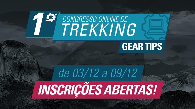 1º Congresso Online de Trekking Gear Tips