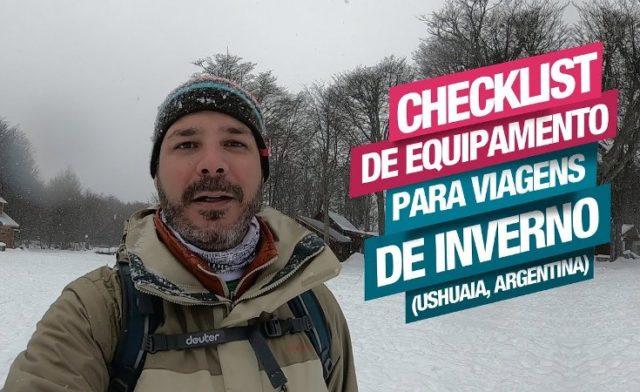 Checklist de Equipamentos para Viagens de Inverno