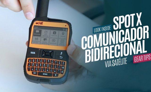 SPOT X – Comunicador Bidirecional Via Satélite