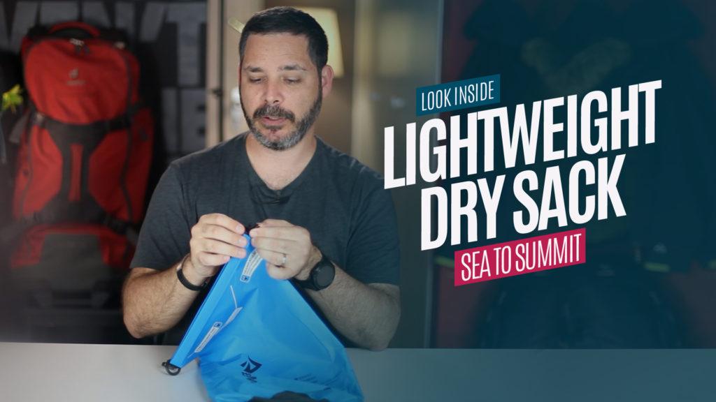 Conheça o Lightweight Dry Sack – Saco Estanque Sea to Summit