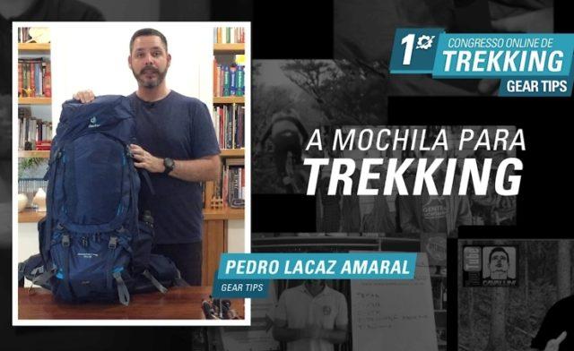 Palestra: A Mochila para Trekking