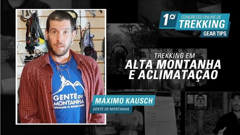 Palestra: Trekking em Alta Montanha e Aclimatação