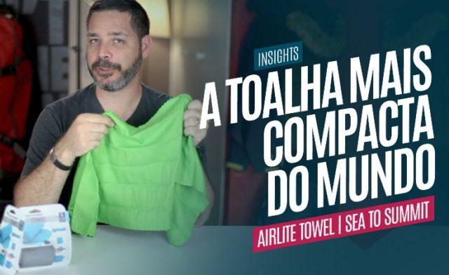 A Toalha Mais Compacta do Mundo! AirLite Towel