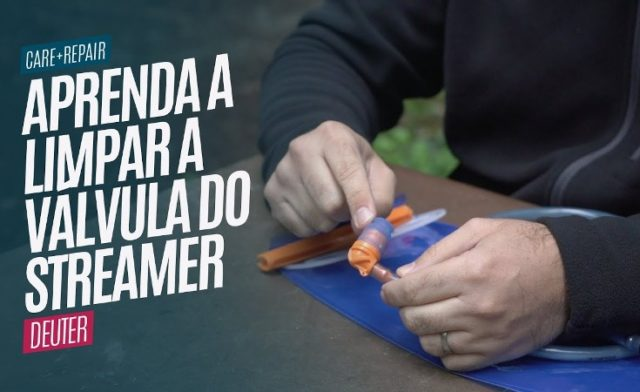 Aprenda a Limpar a Válvula do Streamer Deuter