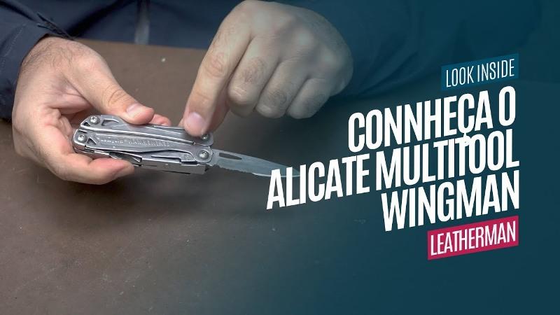 Conheça o Alicate Multitool Wingman Leatherman