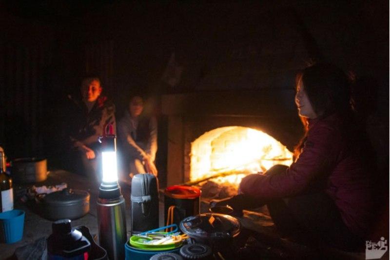 Lampião PL6 no Abrigo Massena