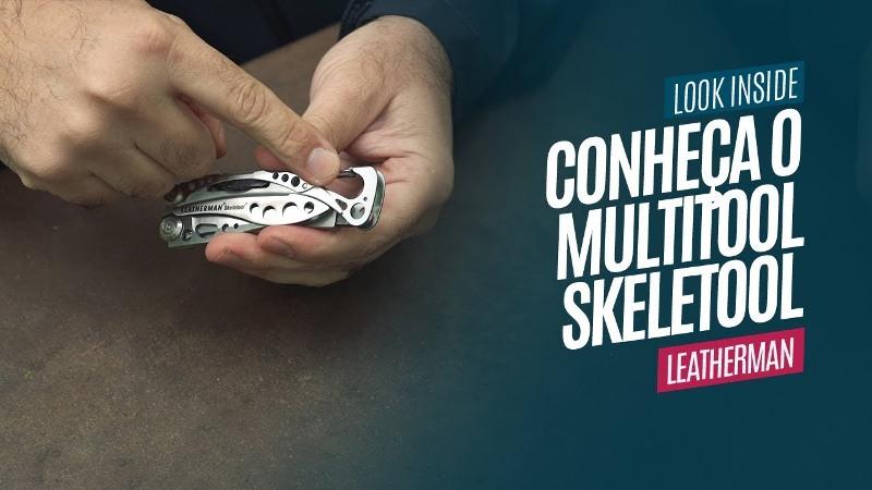 Conheça o Multitool Skeletool Leatherman