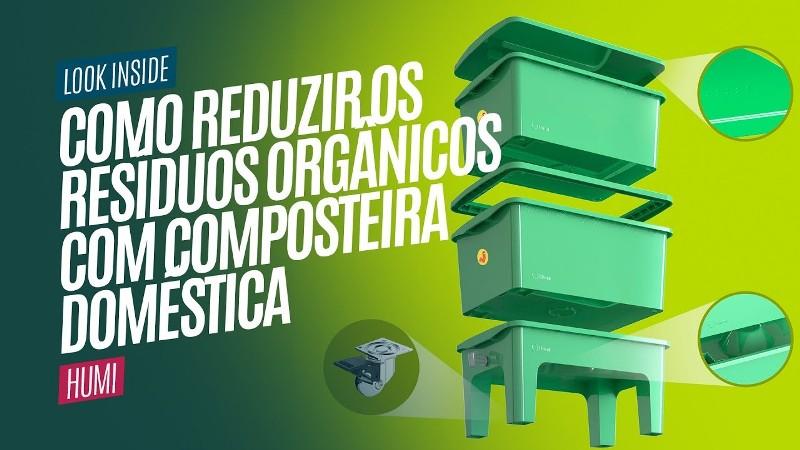 Composteira Doméstica: Uma forma de Reduzir os Resíduos
