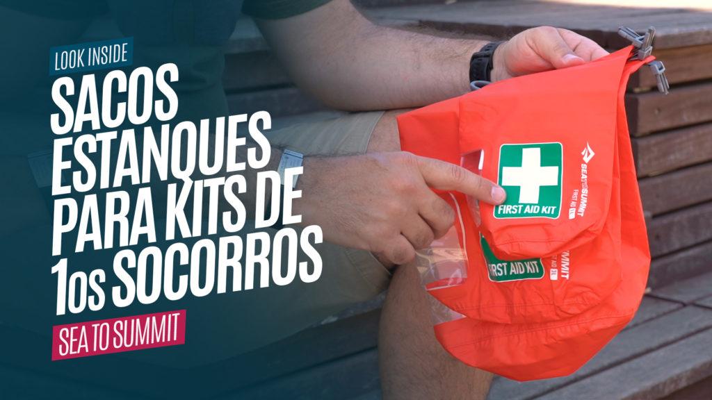 Sacos Estanques para Kits de Primeiros Socorros