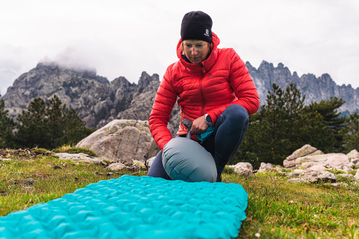 Isolante térmico Inflável feminino Sea to Summit