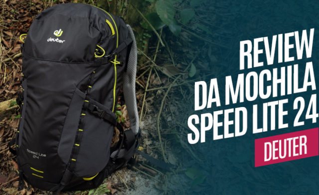 Review da mochila Deuter Speed Lite 24