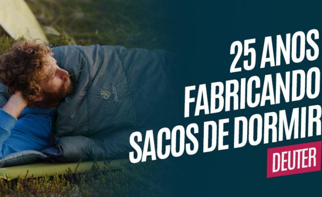 Deuter completa 25 anos fabricando sacos de dormir