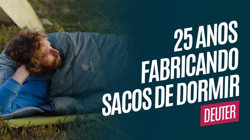 Deuter 25 anos fabricando sacos de dormir