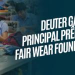 Deuter ganhou novamente o principal prêmio da Fair Wear