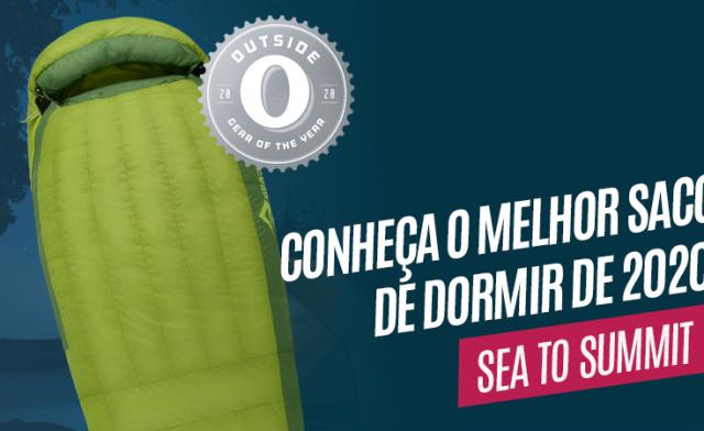 Sea to Summit Ascent ganha prêmio de melhor saco de dormir de 2020