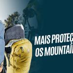 Mochilas deuter Attack e FLYT com proteção certificada TÜV/GS