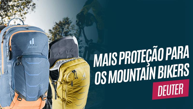 Mochilas para mountain bike deuter Flyt e Attack