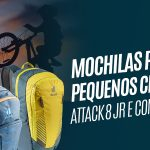 Mochilas infantis deuter Attack 8 JR e Compact 8 JR