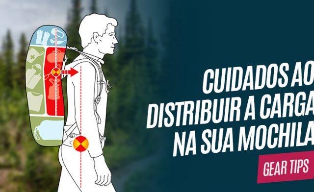 Cuidados ao distribuir a carga na sua mochila