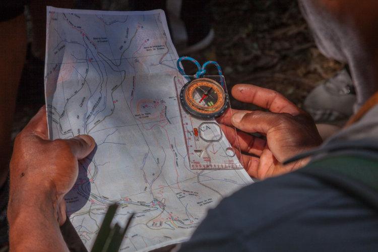 Curso de orientação e Navegação - Parceria do Gear Tips com a Outward Bound Brasil