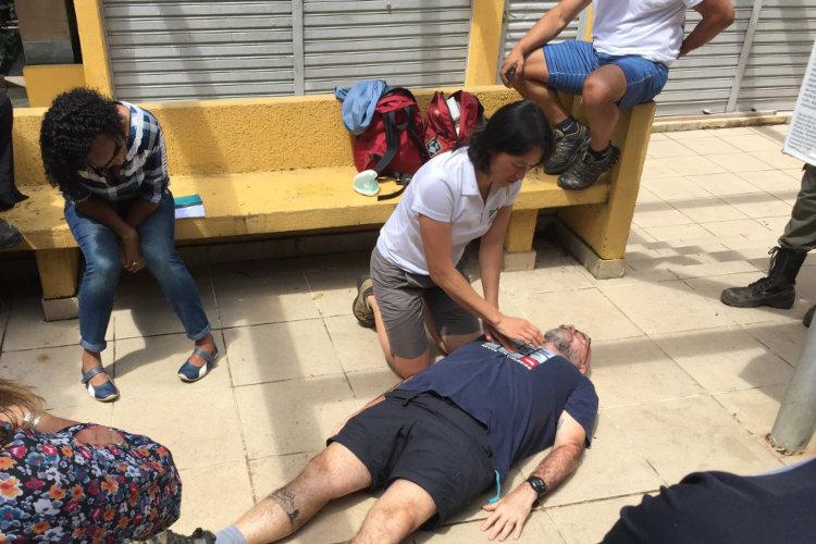 Workshop de Primeiros Socorros da WMAI Brasil